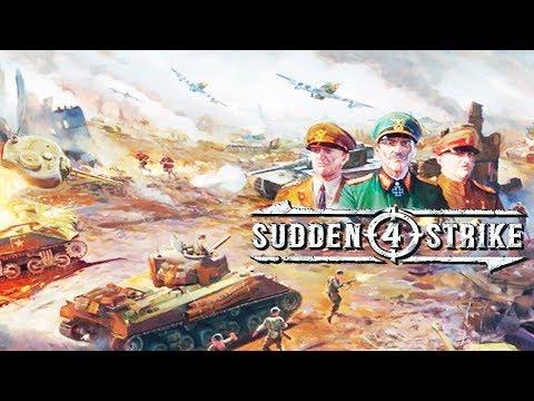 QUE JOGO FODAAAA!! - Sudden Strike 4