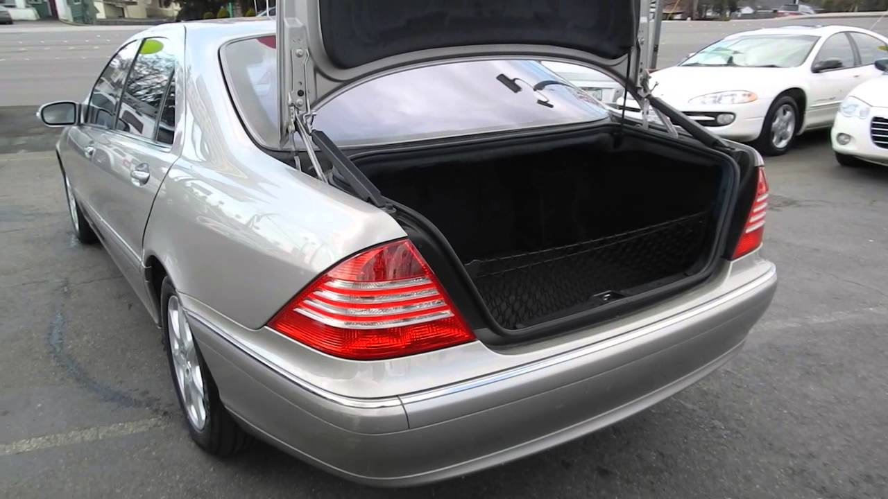 2004 mercedes benz s430 pewter stock l423269 trunk for 2004 mercedes benz s430