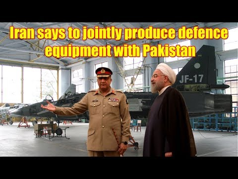 Iran says to jointly produce defence equipment with Pakistan