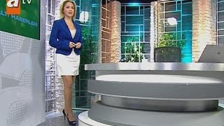 Hilal Ergenekon Beautiful Turkish Tv Presenter 10.01.2013 2017 Video