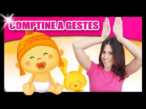 Comptines pour bébé - Comptines à gestes Titounis - Monde des petits