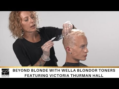 Beyond Blonde With Wella Blondor Toners
