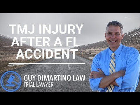 TMJ Injury After A FL Accident | Leesburg FL Injury Lawyer
