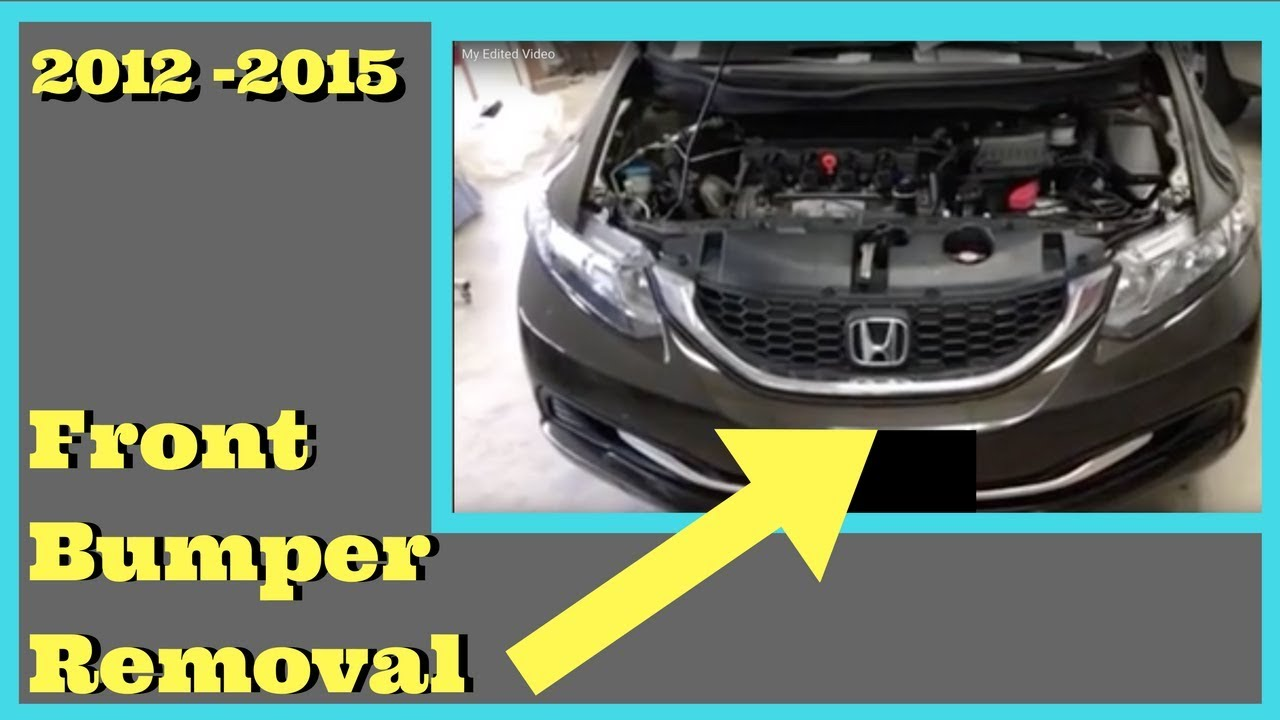 2012 2013 2014 2015 HONDA CIVIC---- How to Remove Replace ...