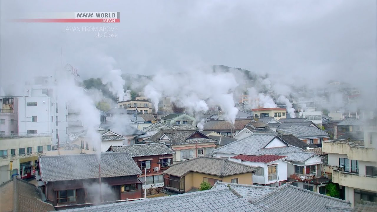 Photo of Beppu Bathhouse [Oita] – JAPAN FROM ABOVE: UP CLOSE – video