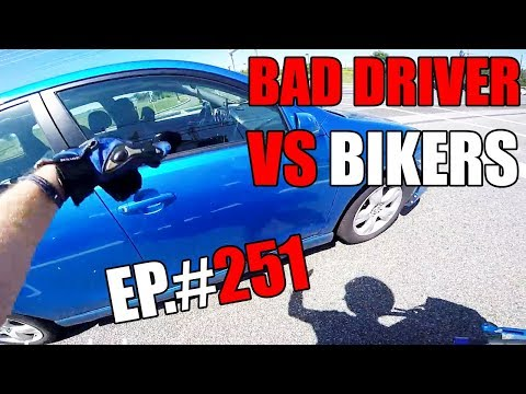 Crazy, Angry People vs Bikers 2018    Motorcycles Road Rage Compilation 2018 [EP. #251 ]