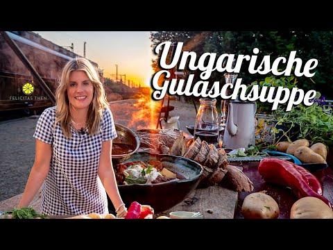 Ungarische Gulaschsuppe | Wie schmeckt`s in Europas Zügen? | Felicitas Then