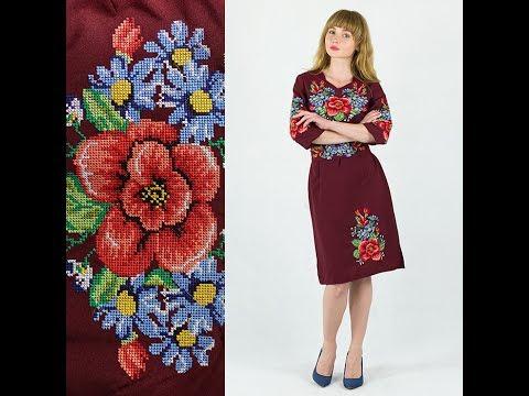 Платье с вышивкой купить Даринаиз YouTube · Длительность: 54 с