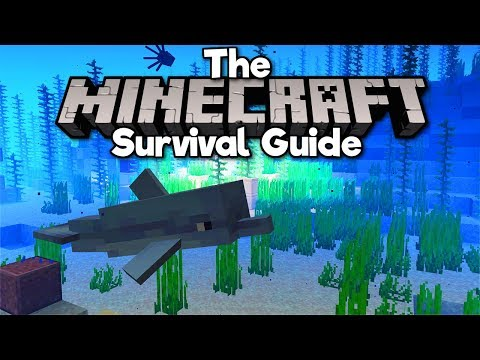 Catching Dolphins & Sunken Treasure! ▫ The Minecraft Survival Guide (Tutorial Lets Play) [Part 199] thumbnail