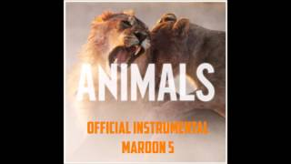 Animals - Maroon 5 (Official Instrumental)
