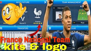 Dream Legaue Soccer 2019 | How to create France National Team Kits & Logo