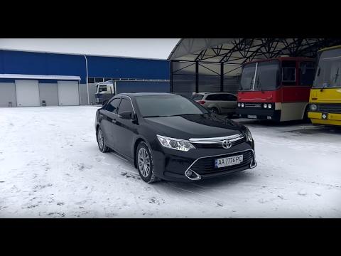 Toyota Camry 2.5, 2016 г. - 2 CЕРИЯ. Специальный проект и длительный тест-драйв. Первый ТО.