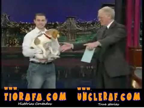 Dead Dog David Letterman Video