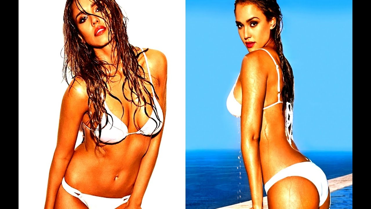 6e619ea43a34d Jessica Alba Posing Bikini Photoshoot for Entertainment Weekly June 2014