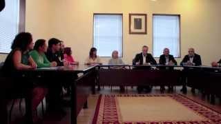 Votación de investidura do alcalde pleno 13/6/2015
