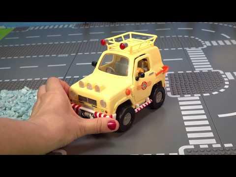 kinderfilm---feuerwehrautos-und-feuerwehrmänner-im-einsatz
