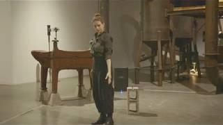 Luisa Muhr with Wendy Eisenberg at Pioneer Works - False Harmonics 3
