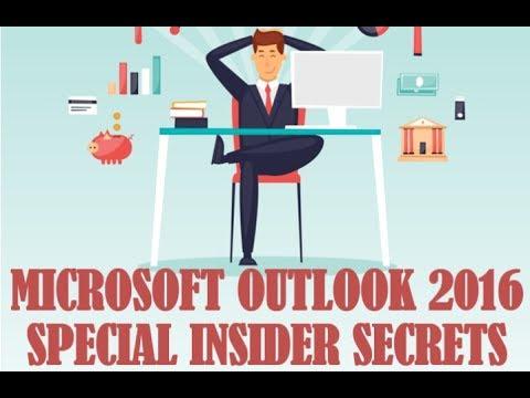 JMARK - Insider Secrets to Microsoft Outlook 2016