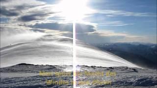 160 km/h Orkan Sturm am Schneeberg im Winter  - 100 mph hurricane storm on mountain
