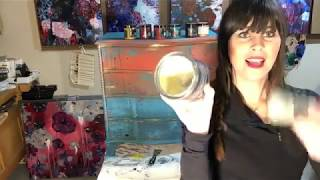 Waxing Furniture with Dionne of The Turquoise Iris