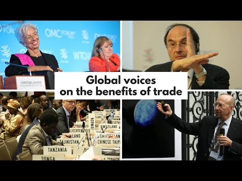 Global voices on the benefits of trade