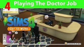 The Sims 4 Xbox One Part 4-Playing As A Doctor