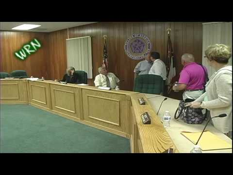 Sebring Village Council Meeting Ends In Confrontation Between Councilman Cannell and Manager Giroux