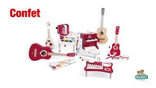 Drevené hudobné nástroje Janod
