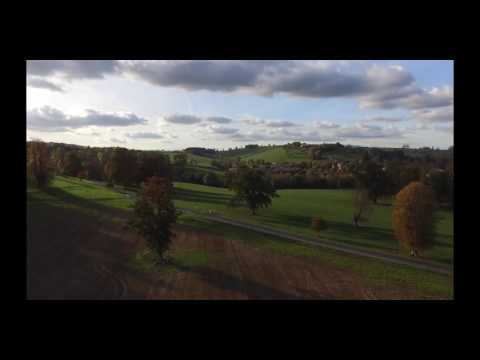 Drone Film test - Newton St Loe, Bath, Somerset