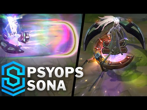 PsyOps Sona Skin Spotlight - Pre-Release - League of Legends