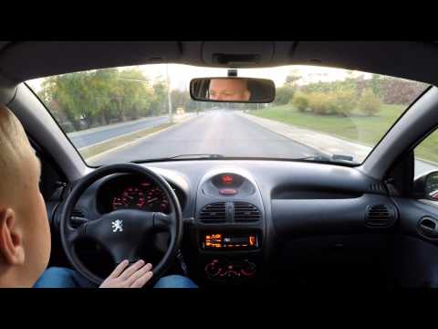 Driving an Peugeot 206 At Friday