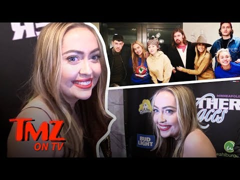 Miley Cyrus' Youngest Sister Throws Some Shade! | TMZ TV