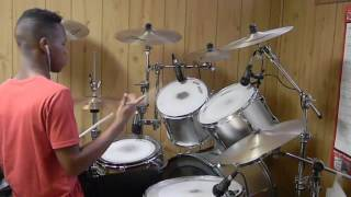 drum cover father stretch my hands pt 1 2 kanye west drums only drums0n