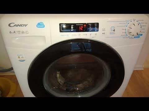 . Стиральная машина Candy Smart CSS34 1062DB1-07, которая полоскает без воды. Обзор