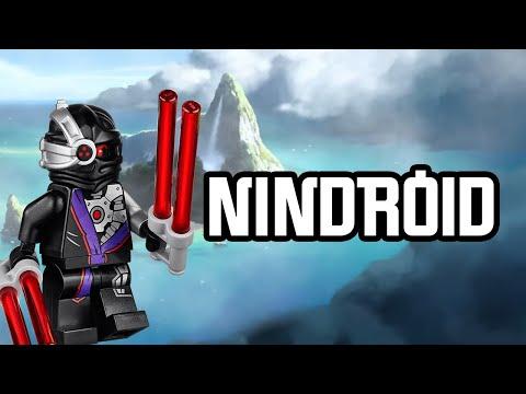 ninjago nindroid blanc fan made hd