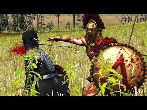 LEONIDAS VS 20 IMMORTALS - EPIC BATTLE TOTAL WAR ROME 2 (CINEMA)