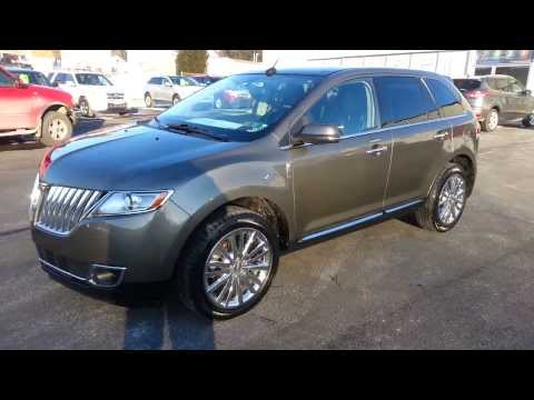 CERTIFIED 2012 LINCOLN MKX AWD MINERAL GRAY