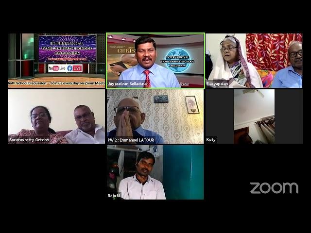 27 July 21–Qtr.3 REST IN CHRIST-LS5 நான் சாந்தமும் மனத்தாழ்மையுமாய் இருக்கிறேன் Mrs. Papa Bharathi M