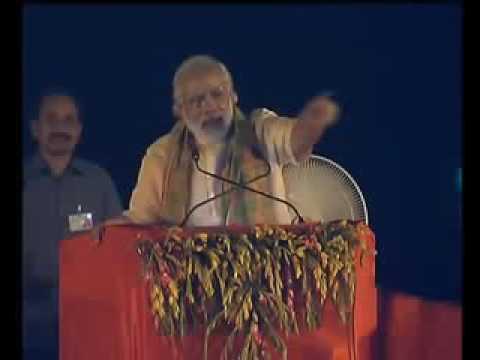 Narendra Modi at Varanasi for inagurate of E boat Programme
