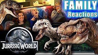 Jurassic World | FAMILY Reactions | Fair Use