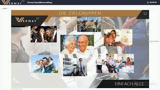 Verway Webinar   Geschäftsvorstellung Verway Markt Produkt Karriereplan