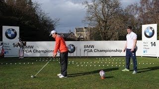 BMW Trick Shot Challenge with Molinari and England Rugby