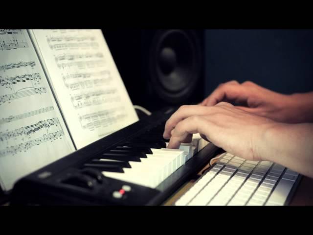 Marcello-Bach: Concerto In D Minor, II. Adagio (On a 37-key Mini Keyboard)