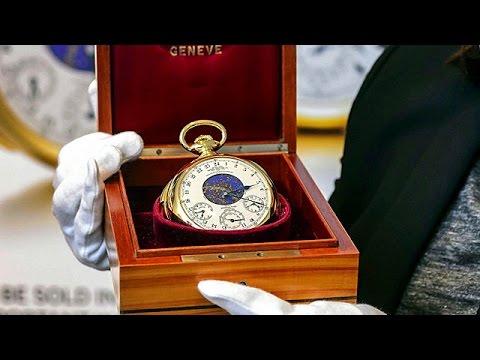 ef4f707f33a28 شاهد أغلى ساعة في العالم - YouTube