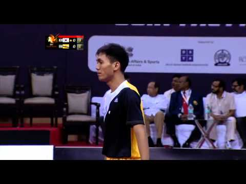 ISTAF SuperSeries INDIA 2013/14: Men's Group C Brunei Vs Korea