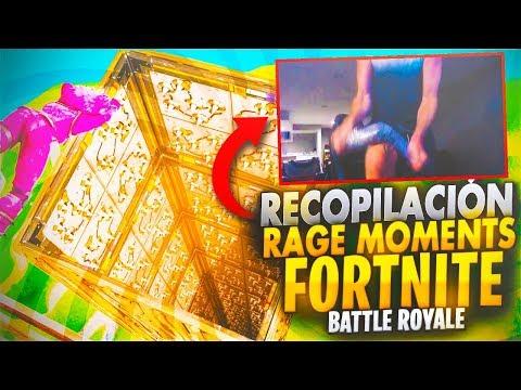 RECOPILACION RAGE MOMENTS EN FORTNITE BATTLE ROYALE ( partiendo teclados LYNDONFPS )