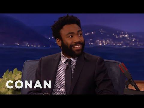 Donald Glover's Sexy Coyote Confrontation - CONAN on TBS ...