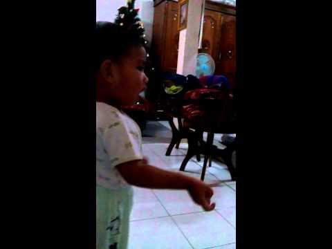 lagu koor anak kecil batak marga Napitupulu little boy to be dirigen