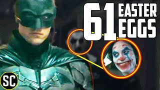 The BATMAN Trailer Every EASTER EGG and Reference BREAKDOWN + Matt Reeves DC Fandome Panel Explained