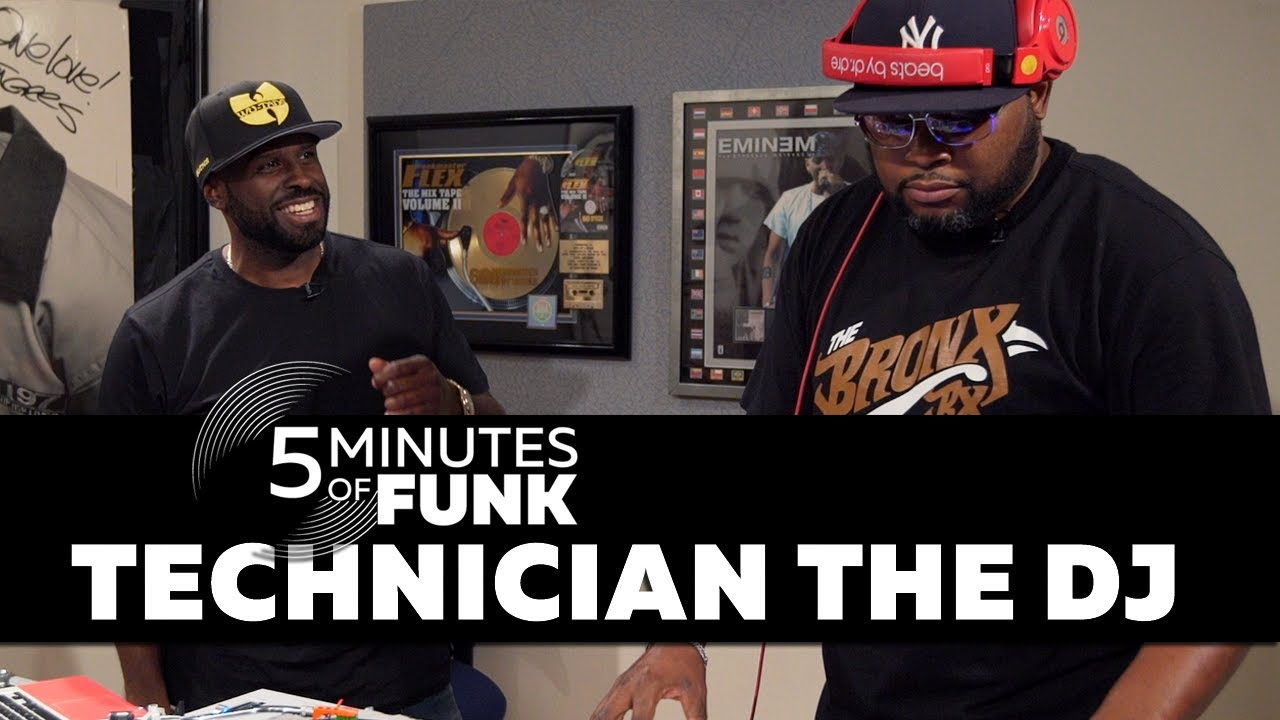 #5MinutesOfFunk010 | Technician The DJ